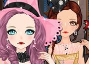 Pink Witch Make Up