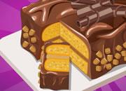 花生酱巧克力蛋糕