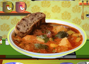 Summer Squash & Sausage Stew