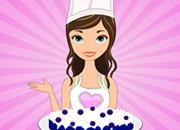 詹妮的美味:蓝莓蛋糕-