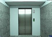 打开电梯门
