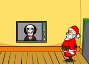 圣诞老人的惊魂逃脱