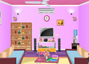 Lovely Pink Room Escape