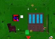 逃出绿盒子房间