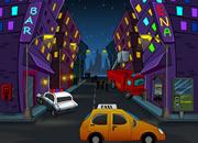 逃离城市街道