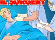 外科医生扁桃体手术