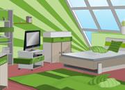 逃出绿色阁楼房间