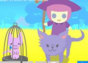 小白之魔女和猫