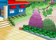 逃离花园庭院