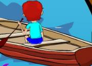 逃出小艇水洞