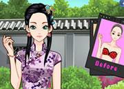 清纯中国美少女