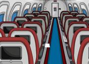 逃出飞机机舱