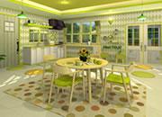 水果厨房:绿色猕猴桃