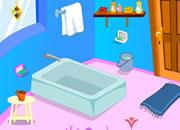 逃出卡通浴室