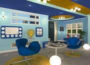 Candy Rooms 14:Sky Blue Modern