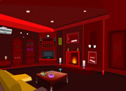 Bright Red Home Escape