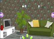 逃出绿色植物房间