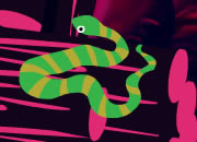 逃出树屋的蛇