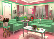 Candy Rooms Escape 16: Mint Green Girly
