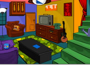 Cartoon House Escape