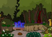 Mushroom Green Forest Escape