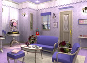 Candy Rooms No.17 Purple Girly