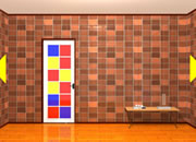 Escape From Colorful Door Room