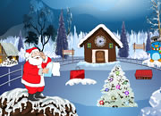 Clock House santa escape