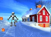 逃离冰雪小镇