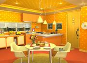 水果厨房:杏黄色