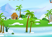 逃离冰雪小岛
