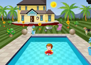 Swimming Pool House Escape