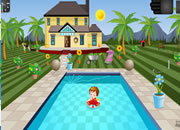 Swimming pool house escape 4