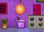逃出情人节紫色密室