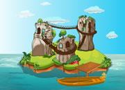 逃离岩石岛