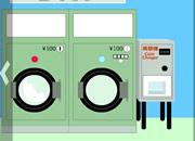 找小绿人逃脱144:洗衣店