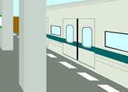 找小绿人逃脱146:满员电车