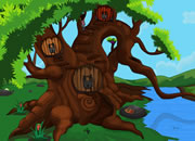 逃离巨大树屋