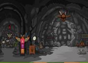 逃离原始部落洞穴