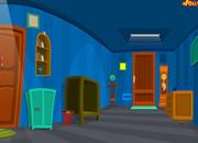 逃出蓝色条纹房子