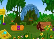 Garden Mushroom Hut Escape