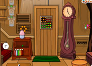 Edward Bear Cartoon House Escape