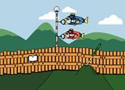 逃离鲤鱼旗围栏