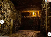 Escape From Catacombes In Paris