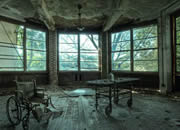 Abandoned Psychiatric Hospital Escape
