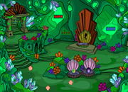 Green Fantasy Cave Escape