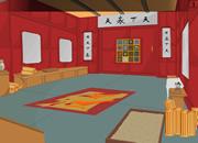 逃离中式大厅