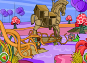 Escape with fantasy trojan horse