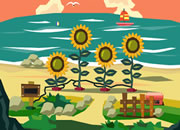 Sunflower Beach Escape