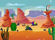 逃离荒漠沙丘